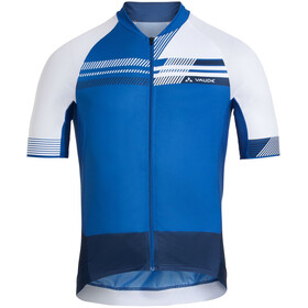 VAUDE Pro III Maglietta Uomo, blu/bianco